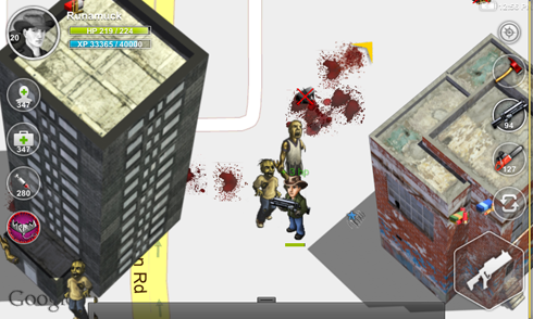 Parallel Zombies screens