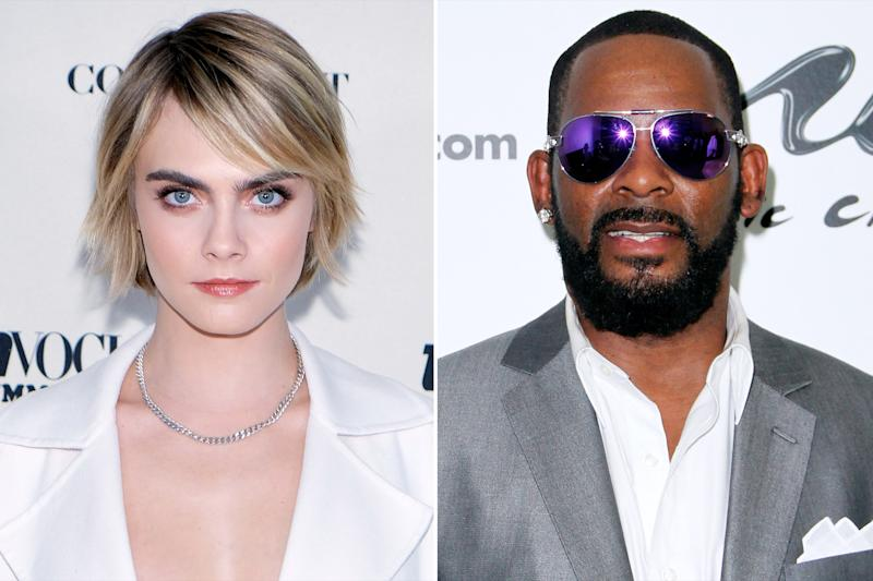 Cara Delevingne Loses 50K Followers After Criticizing R. Kelly