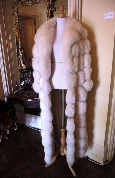 PHOTO: A fur coat belonging to the late Hungarian-American actress Zsa Zsa Gabor is displayed at the 'Hello Dal-ling: The Estate of Zsa Zsa Gabor' auction by Heritage Auctions at the actress' residence in Bel Air, Calif., April 12, 2018. (Mike Nelson/EPA via Shutterstock)