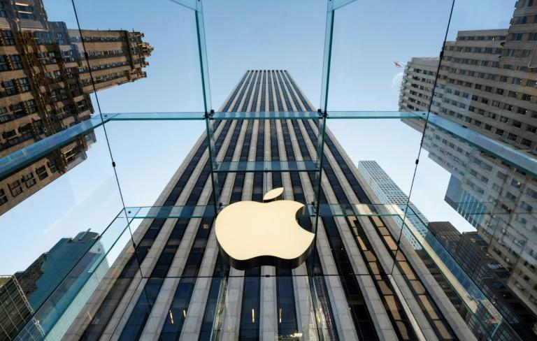 Le magasin d'Apple à New York en septembre 2019