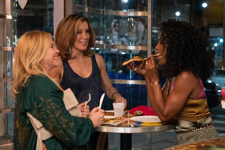"<h3><strong><em>Otherhood</em></strong><br>August 2</h3><br><br>What happens when you combine Angela Bassett, Felicity Huffman, and Patricia Arquette? You get <em>Otherhood</em>, a movie about three mothers tired of their lazy adult sons (played by Jake Lacy, Jake Hoffman, and Sinqua Walls).<span class=""copyright"">John Salangsang/Invision/AP/REX/Shutterstock</span>"