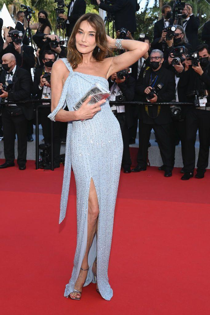 <p>The singer-songwriter stepped into sparkling Celine for the Cannes opening ceremony.</p>