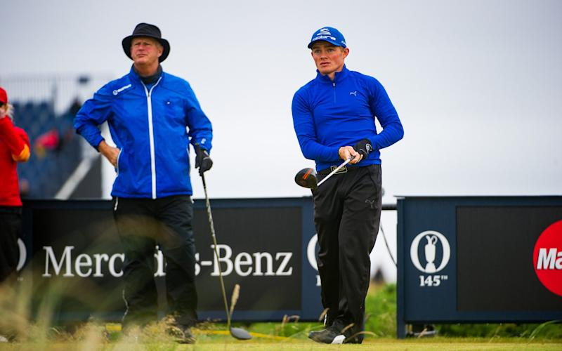 Lee Gregory and Sandy Lyle - Credit: Stuart Nicol