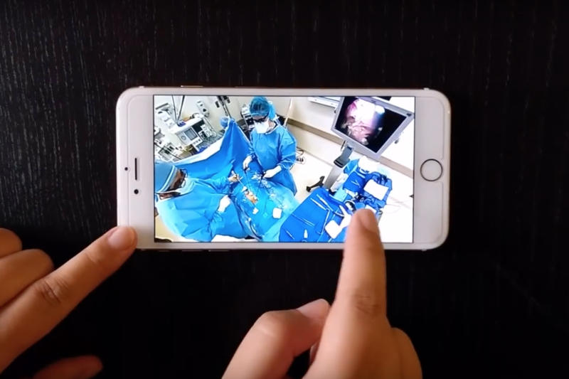 Scrubbed, sanitized, and live in 360: Watch first real-time VR broadcast of a surgery