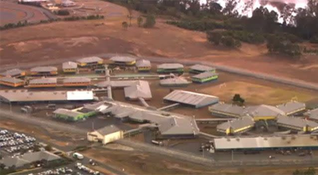Wolston Correction Centre, where Cowan is serving his life sentence. Photo: 7 News