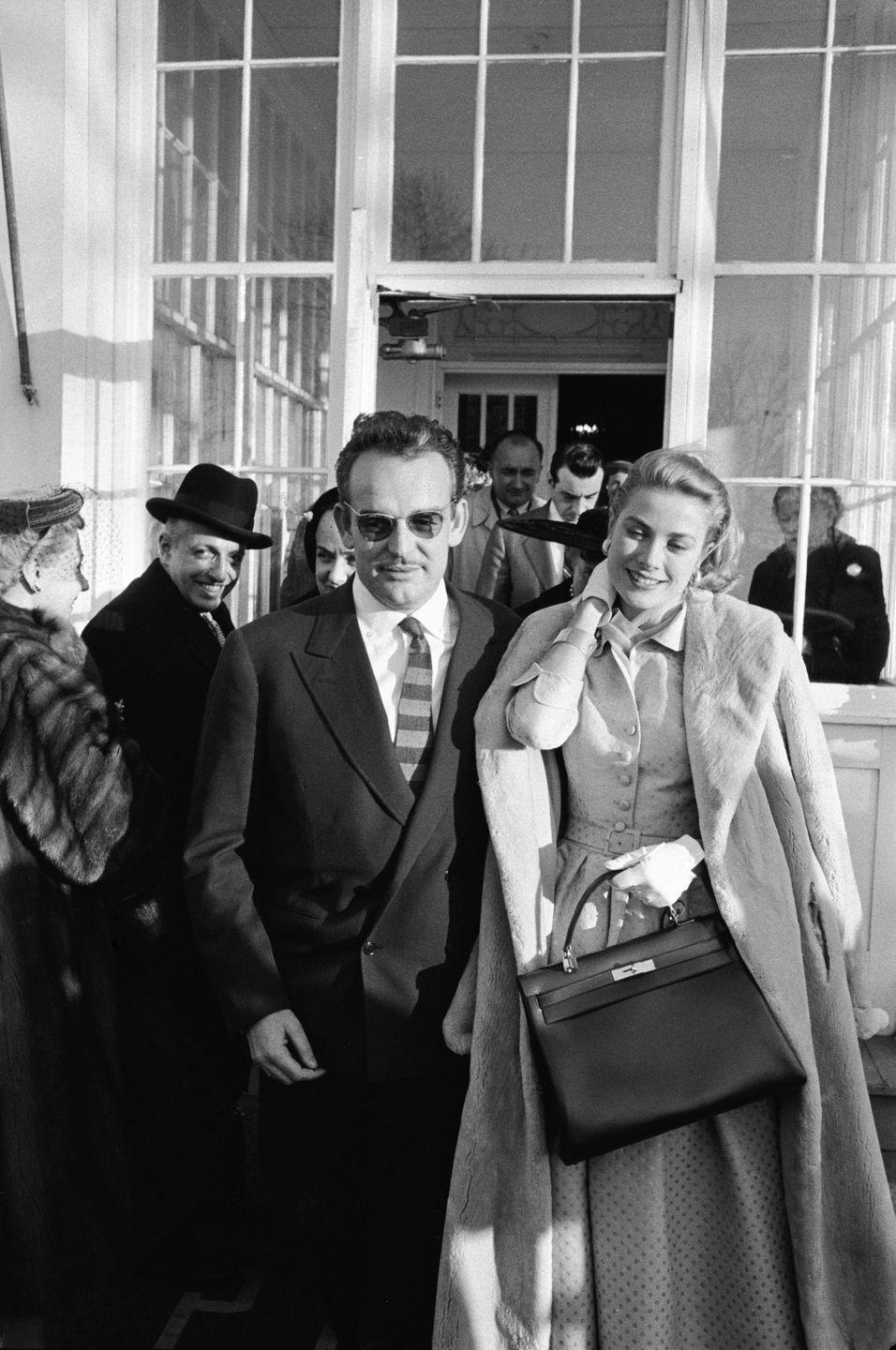 <p>She was beauty, she was Grace...and she had her own Hermès bag named for her. The Kelly bag is still around today and remains one of the brand's most popular silhouettes. </p>