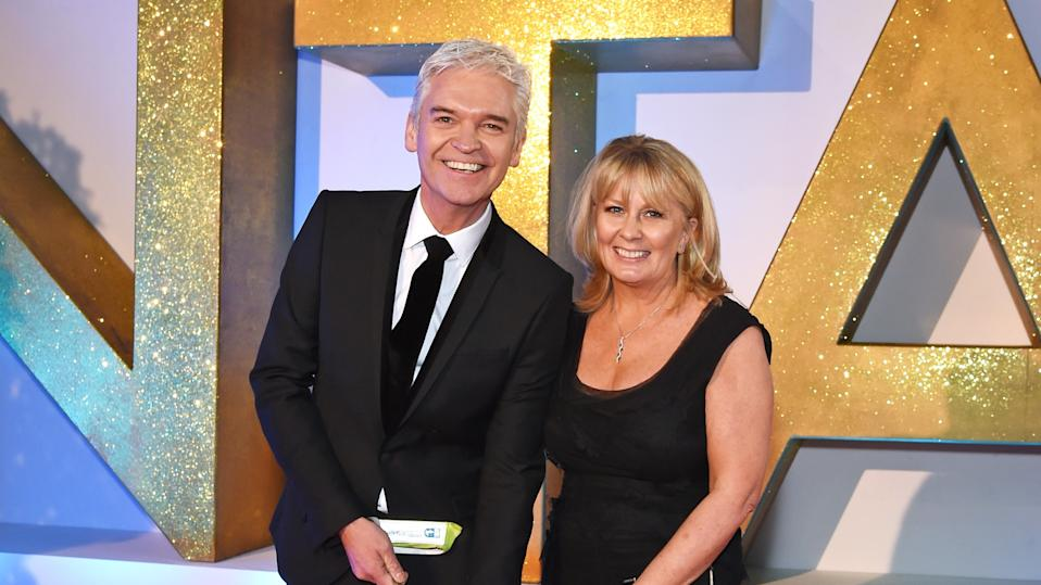 Phillip Schofield and his wife Stephanie Lowe have not discussed divorce. (Getty Images)