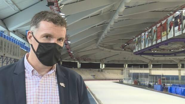 Olympic Oval director Peter McCrory says it will good to get back to normal now that ice is back at the facility, 8 months after a chiller failed.