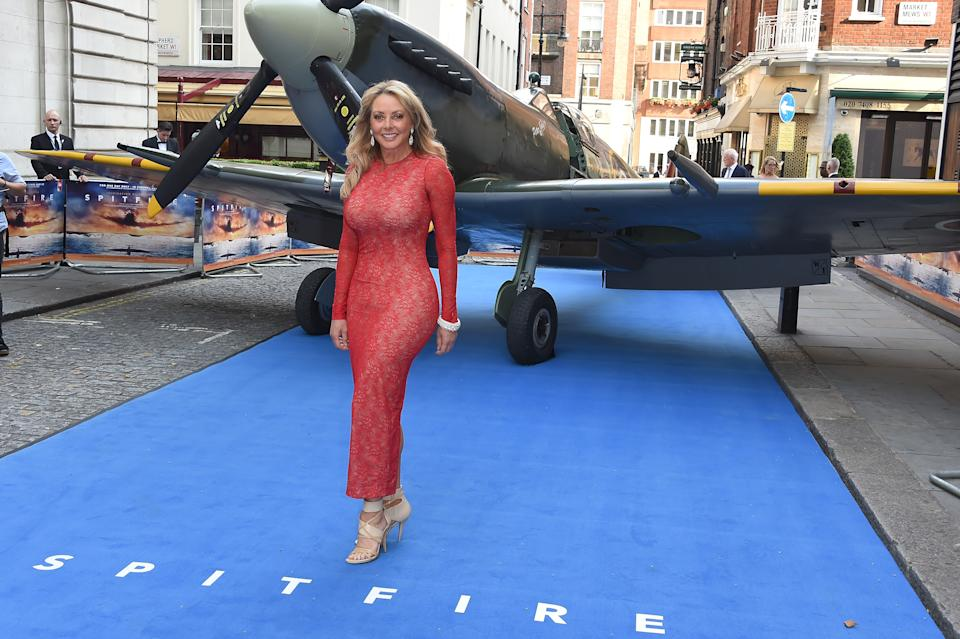 LONDON, ENGLAND - JULY 09:  Carol Vorderman attends the World Premiere of