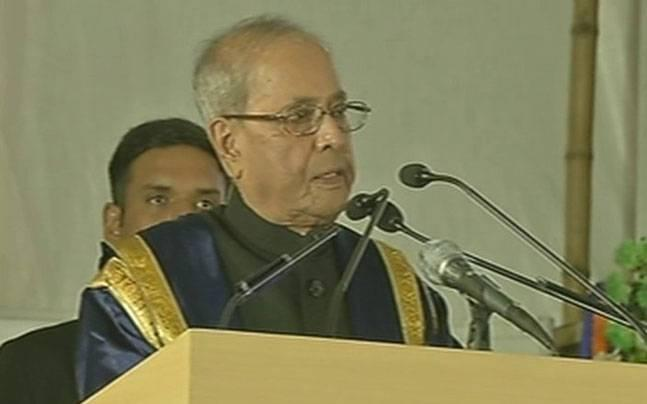 Let there be debate, dissent but never intolerance, says President Mukherjee at IIM Calcutta