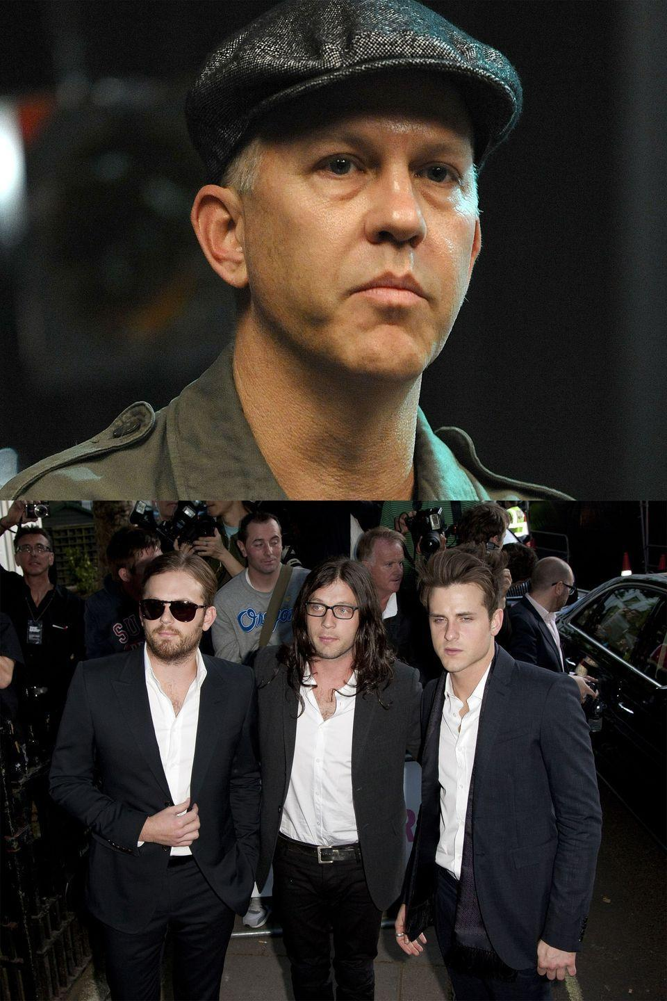 "<p>When Kings of Leon said ""no thanks"" to <em>Glee</em> using one of their songs, the show's creator Ryan Murphy <a href=""http://www.hollywoodreporter.com/news/hot-business-glee-75593"" rel=""nofollow noopener"" target=""_blank"" data-ylk=""slk:lashed out"" class=""link rapid-noclick-resp"">lashed out</a>, calling them ""self-centered assholes."" He added that the band ""missed the big picture"" in that the show could inspire a 7-year-old ""to join a glee club or pick up a musical instrument."" The band's frontman, Caleb Followill, said they were ""not sure where the anger is coming from,"" while drummer <a href=""http://www.billboard.com/articles/news/473393/kings-of-leon-to-glees-ryan-murphy-go-see-a-therapist"" rel=""nofollow noopener"" target=""_blank"" data-ylk=""slk:Nathan Followill implored"" class=""link rapid-noclick-resp"">Nathan Followill implored</a> Murphy to ""see a therapist, get a manicure, [and] buy a new bra."" Murphy called him ""a homophobe badly in need of some education."" But they eventually made up, <a href=""http://www.hollywoodreporter.com/news/how-gwyneth-paltrow-got-glees-100380"" rel=""nofollow noopener"" target=""_blank"" data-ylk=""slk:reportedly"" class=""link rapid-noclick-resp"">reportedly</a> thanks to good ol' Gwyneth Paltrow, who mediated a truce over text messages.</p>"