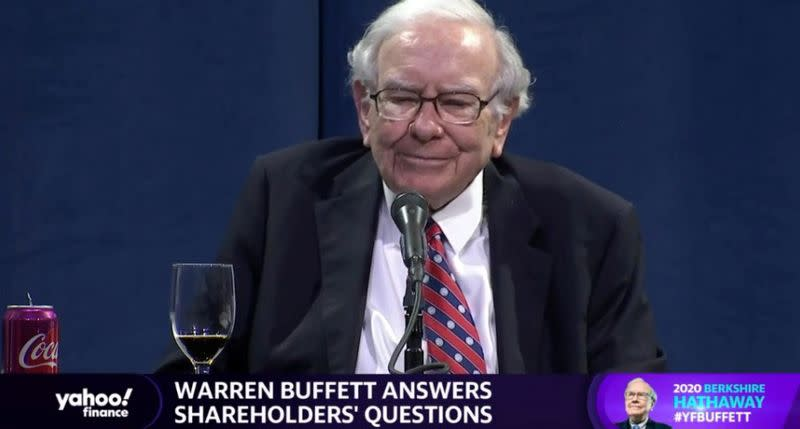 Warren Buffett says the coronavirus cannot stop America, or ...