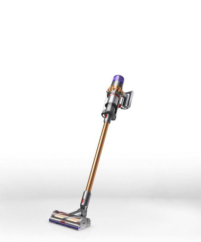 """<h2>Dyson V11 Outsize Cordless Vacuum</h2><br>""""So the splurge for basically the Rolls-Royce of vacuums was not a spur of the moment decision for me. I have been dreaming about this machine for years. (To be clear, I've never purchased a vacuum before because I thought there was no point unless I could purchase this one.) And as someone with a lot of allergies, this was also an investment in my health. The V11 makes cleaning so easy and enjoyable...I was literally using an old-fashioned broom before. I also love the handheld attachment so I can clean all of the popcorn crumbs out of the nooks and crannies of my couch."""" – <em><a href=""""https://www.instagram.com/kateispencer/"""" rel=""""nofollow noopener"""" target=""""_blank"""" data-ylk=""""slk:Kate Spencer"""" class=""""link rapid-noclick-resp"""">Kate Spencer</a>, Creative & Updates Editor</em><br><br><em>Shop <strong><a href=""""https://www.dyson.com/"""" rel=""""nofollow noopener"""" target=""""_blank"""" data-ylk=""""slk:Dyson"""" class=""""link rapid-noclick-resp"""">Dyson</a></strong></em><br><br><strong>Dyson</strong> Dyson V11 Outsize cordless vacuum, $, available at <a href=""""https://go.skimresources.com/?id=30283X879131&url=https%3A%2F%2Fwww.dyson.com%2Fvacuum-cleaners%2Fsticks%2Fdyson-v11-stick%2Fdyson-v11-outsize-nickel-red"""" rel=""""nofollow noopener"""" target=""""_blank"""" data-ylk=""""slk:Dyson"""" class=""""link rapid-noclick-resp"""">Dyson</a>"""