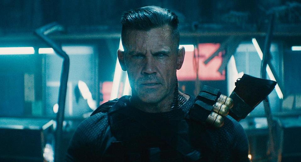 Josh Brolin plays time-travelling badass Cable in <i>Deadpool 2</i> (20th Century Fox)