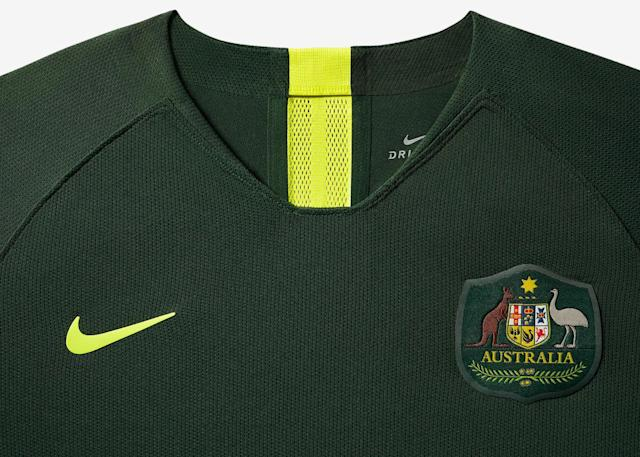 <p>The away kit, to be worn by the Matildas. </p>