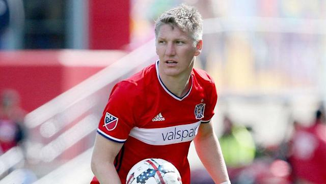 <p>Bastian Schweinsteiger took a vast pay cut to join Chicago Fire from Manchester United last month but is still the seventh highest MLS player in 2017.</p> <br><p>Chicago have finished bottom of the Eastern Conference in each of the last two seasons and will hope that Schweinsteiger will bring enough quality to ensure they don't make it a three-peat. Just don't ask him to win the World Cup...</p>