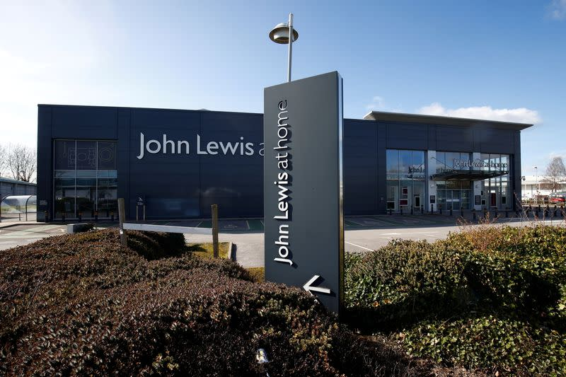 FILE PHOTO: View of a 'John Lewis at home' store in Chester