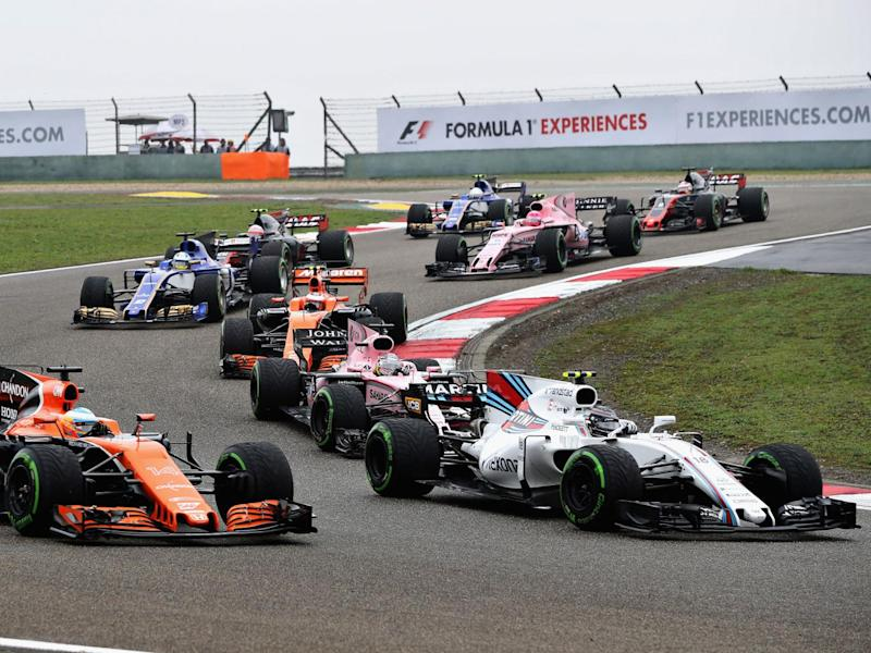 Lance Stroll was too overeager on the opening lap and paid the price (Getty)