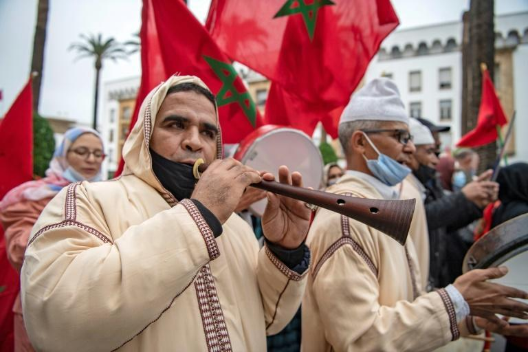Moroccans celebrated on December 13 after the US adopted a new official map of Morocco that includes the disputed territory of Western Sahara, after Rabat agreed to normalise ties Israel
