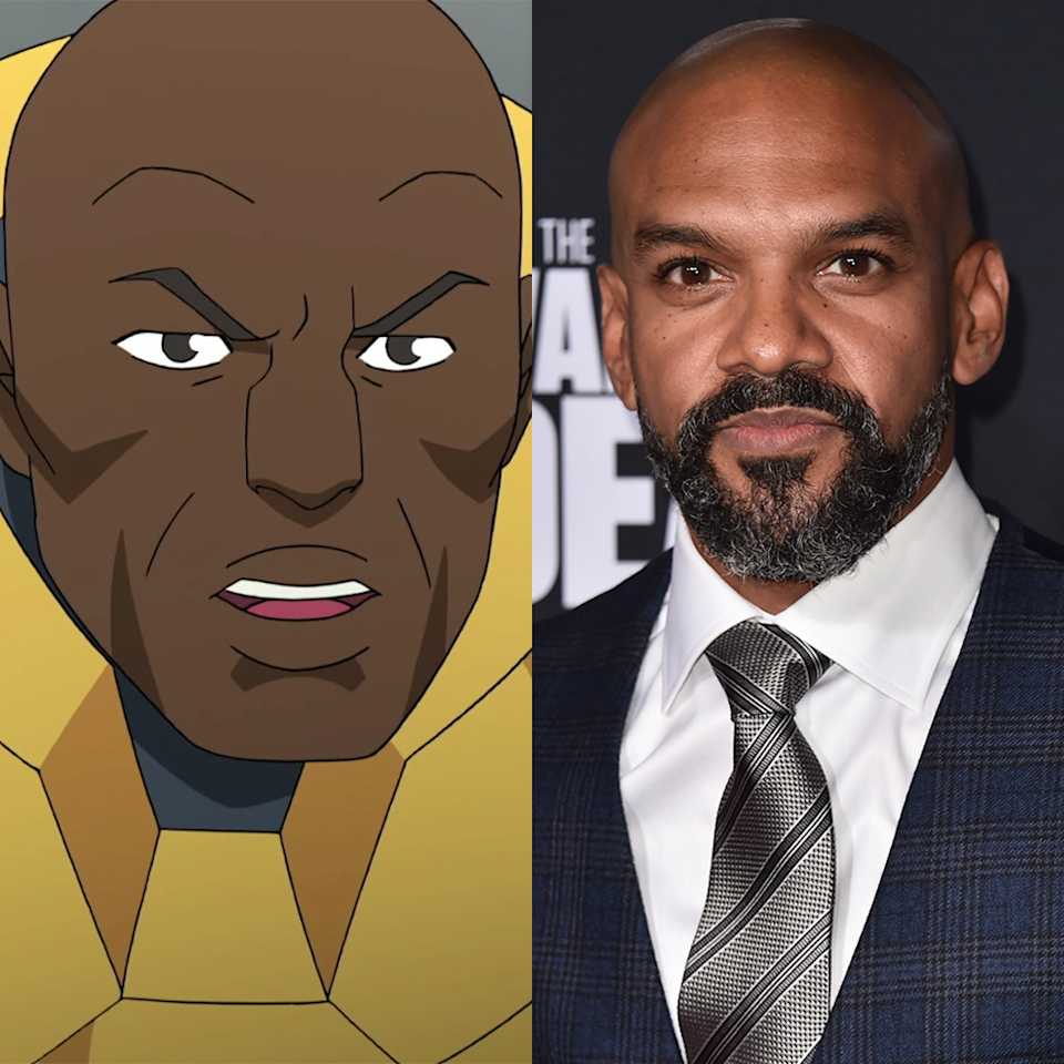 <p>You may not recognize the name of Khary Payton, who plays Black Samson—in many ways the Invincible version of Iron Man. But Payton is a veteran of this form, having provided the voice of Cyborg in <em>Teen Titans</em> and <em>Teen Titans Go!</em> (among other programs) since 2003. He also performs the voice of Aqualad in<em> Young Justice</em> and currently works with Kirkman as King Ezekiel on T<em>he Walking Dead</em>.</p>