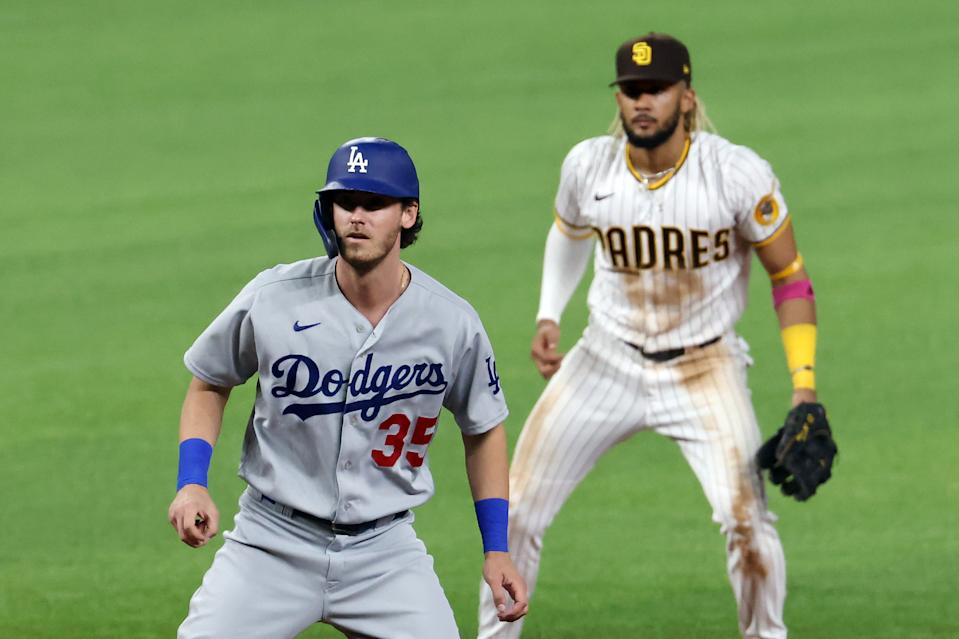 The Dodgers swept the Padres out of the playoffs in the NLDS, but it's San Diego that is cleaning up in the offseason.