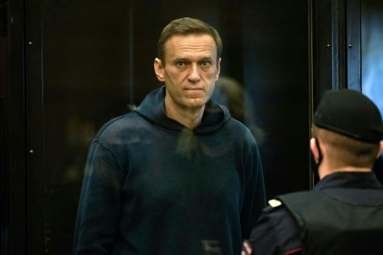 """Russian opposition leader Alexei Navalny is currently on hunger strike in a penal colony east of Moscow, with his doctors warning he could die """"any minute"""""""