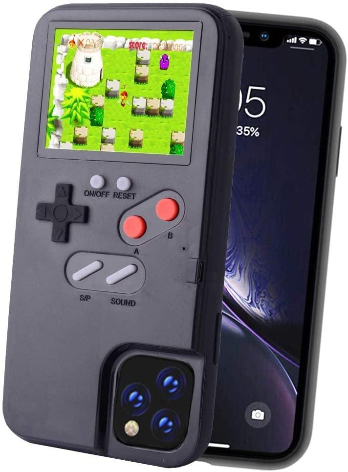<p>This <span>Handheld Game Console Phone Case</span> ($19) is the coolest.</p>
