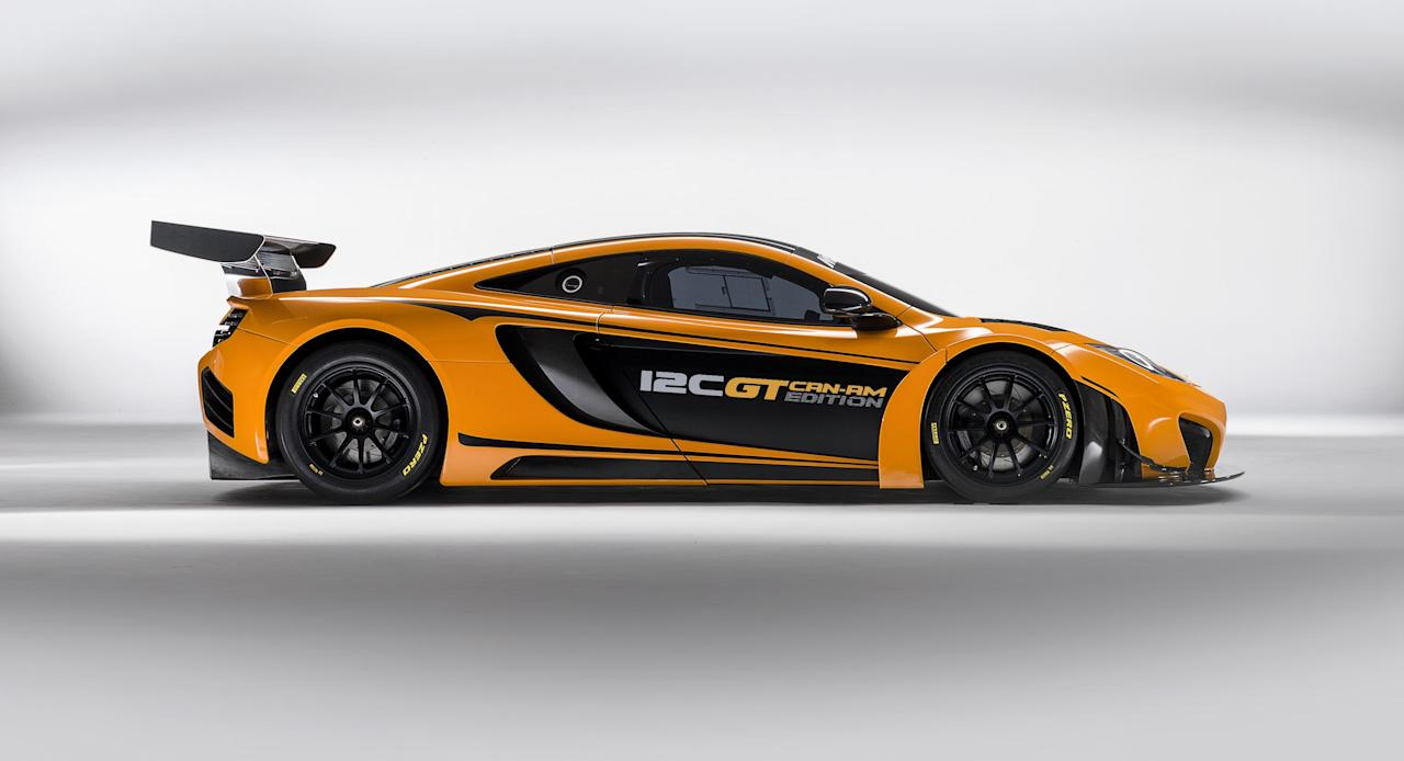 The 12C GT Can-Am Edition will cost £375,000 (McClaren)