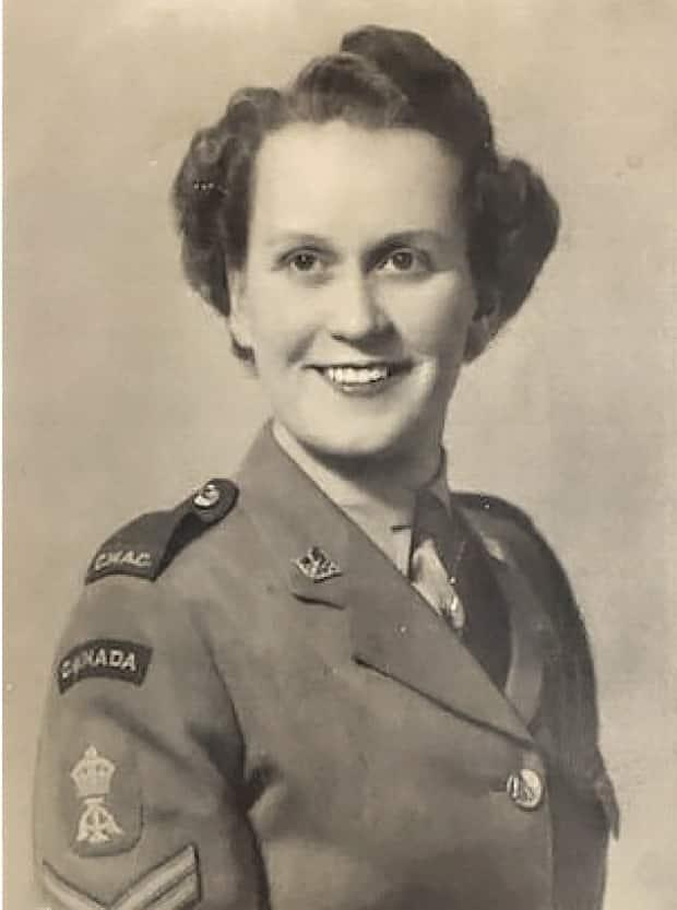 Maureen Bianchini Purvis says inspiration for the project came from her late mother Lillian Mary Bianchini (Nee Hidson), who served with the Canadian Women's Army Corps in the Second World War.