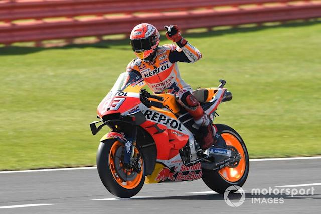 "Polesitter Marc Marquez, Repsol Honda Team <span class=""copyright"">Gold and Goose / LAT Images</span>"