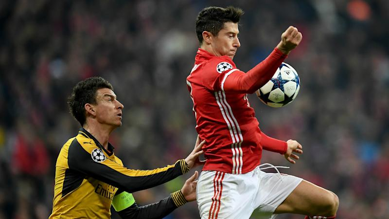 Blow for Arsenal as Koscielny limps out of Bayern clash
