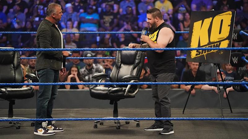 Kevin Owens will wrestle Shane McMahon at SummerSlam on Sunday August 11, 2019 in Toronto, Canada. (Photo Courtesy of WWE)