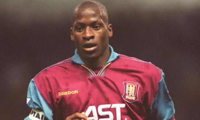 """<span class=""""element-image__caption"""">Ugo Ehiogu made more than 250 appearances for Aston Villa.</span> <span class=""""element-image__credit"""">Photograph: Mark Thompson/Getty Images</span>"""