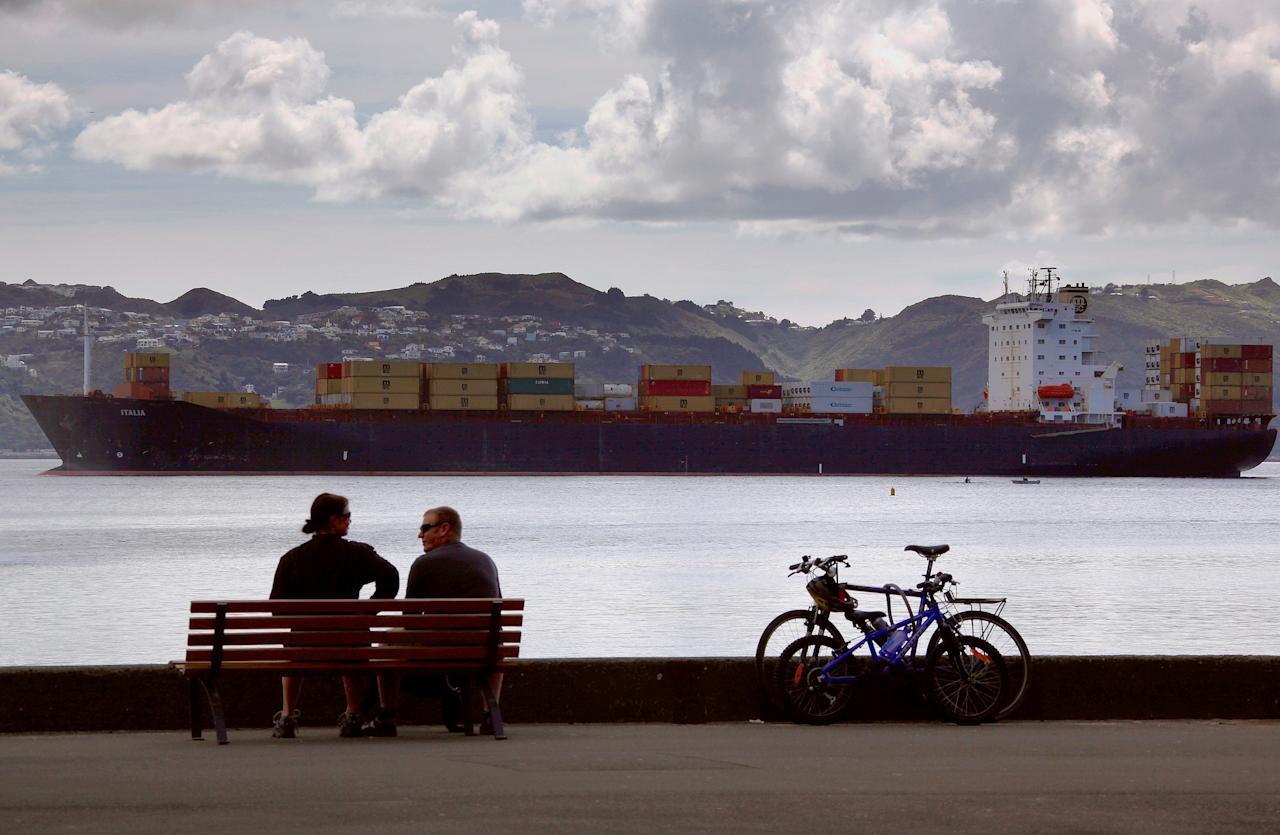 <p>New Zealand's capital city of Wellington (Reuters/David Gray/File Photo) </p>