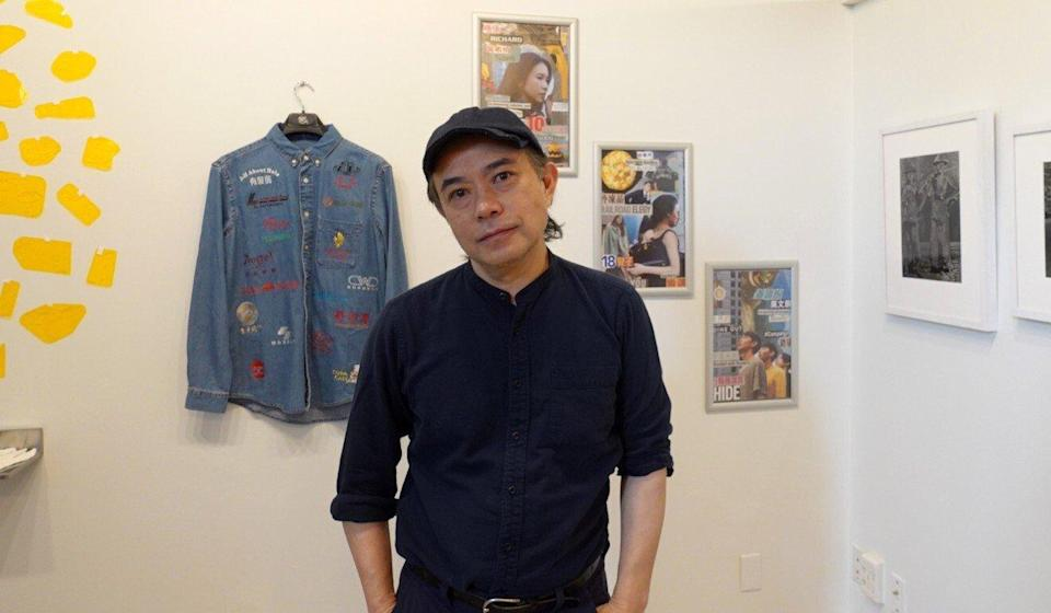 Hong Kong-born artist and publisher Ho Tam is seen in his Hotam Press Gallery, which is preparing to stage the Light Hours exhibition. Photo: Handout/Hotam Press Gallery