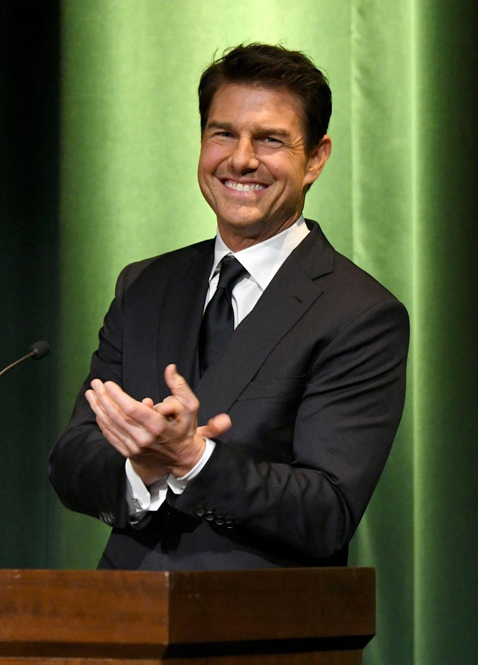 <p>Now, Tom is known for his action-packed <em>Mission Impossible </em>franchise, which he first started filming back in 1996. There are a whopping eight (!) of them, and the last one to come out was in 2018.</p>
