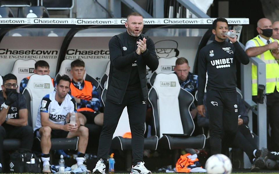 Derby County manager Wayne Rooney is only too aware of the size of task he is now facing - PA