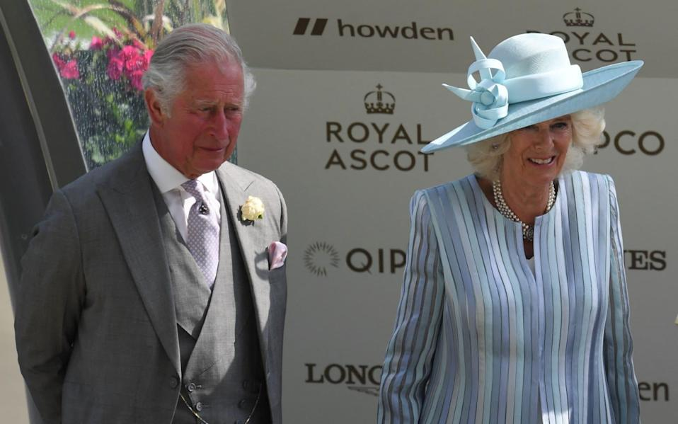 Prince Charles, Prince of Wales and Camilla, Duchess of Cornwall attend the first day - AFP