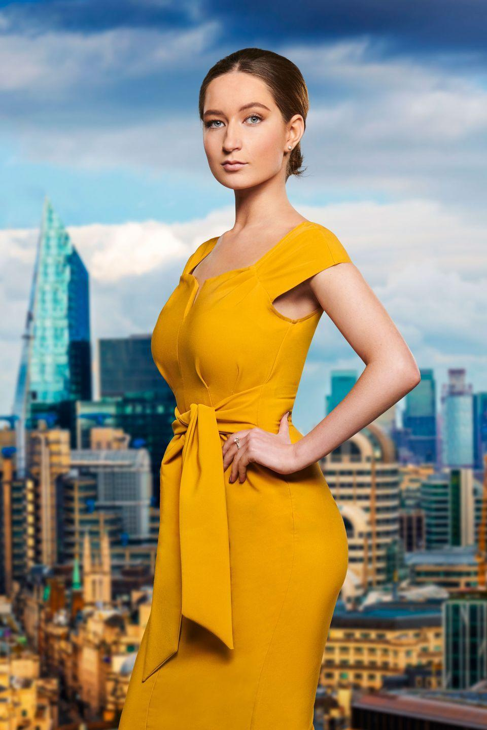 """<p>""""I bring 'class' to everything and ensure nothing I do is half-standard or tacky.""""</p><p>Lottie, from Somerset, is a 19-year-old librarian who says she is """"very cut-throat"""" and insists that she is no push over. She credits her poise and """"powers of persuasion"""" as her greatest business qualities.</p>"""
