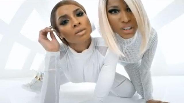 Nicki & Ciara Work the White Room In 'I'm Out'