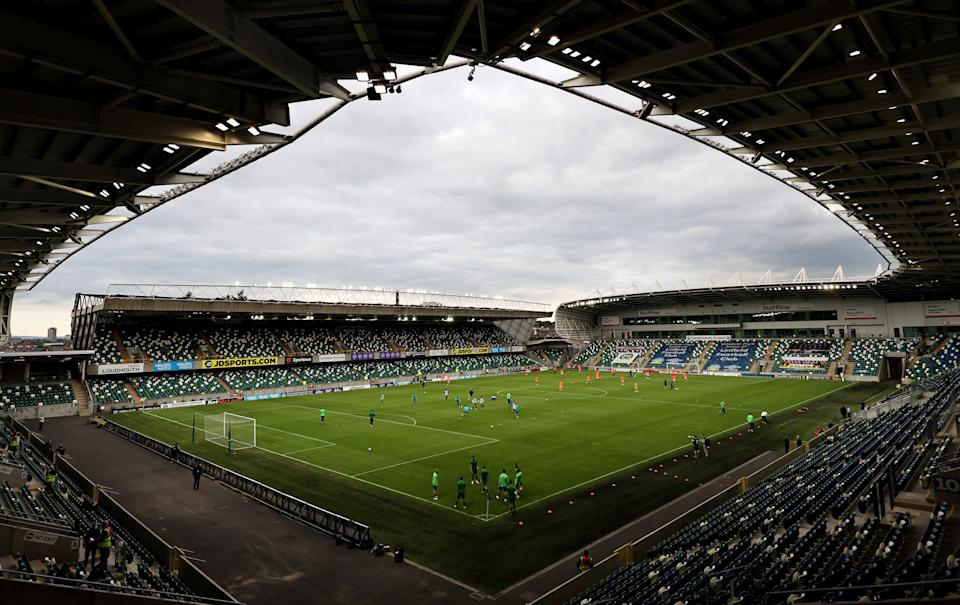 The Uefa Super Cup is being staged at Windsor Park in Belfast on August 11 (Liam McBurney/PA) (PA Wire)