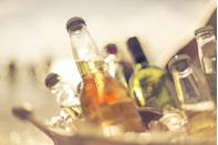 """<p>The majority of alcoholic drinks are vegan, but some wines and beers aren't, so it's always best to double-check the label to make sure what you're serving is plant-based. </p><p>When hosting a BBQ, I love to make some big pitchers of <a href=""""https://www.delish.com/uk/cocktails-drinks/a30924200/mojito/"""" rel=""""nofollow noopener"""" target=""""_blank"""" data-ylk=""""slk:mojito"""" class=""""link rapid-noclick-resp"""">mojito</a> – perfect for hot weather (hopefully!).</p><p>It's also important to make sure there are plenty of soft drinks available for guests that might be driving or don't want to drink alcohol. Why not whip-up a non-alcoholic strawberry and watermelon iced tea smoothie? So cooling and refreshing.</p>"""