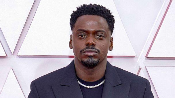 PHOTO: Daniel Kaluuya arrives to the 93rd Academy Awards, at Union Station, in Los Angeles, April 25, 2021. (Pool/Getty Images)