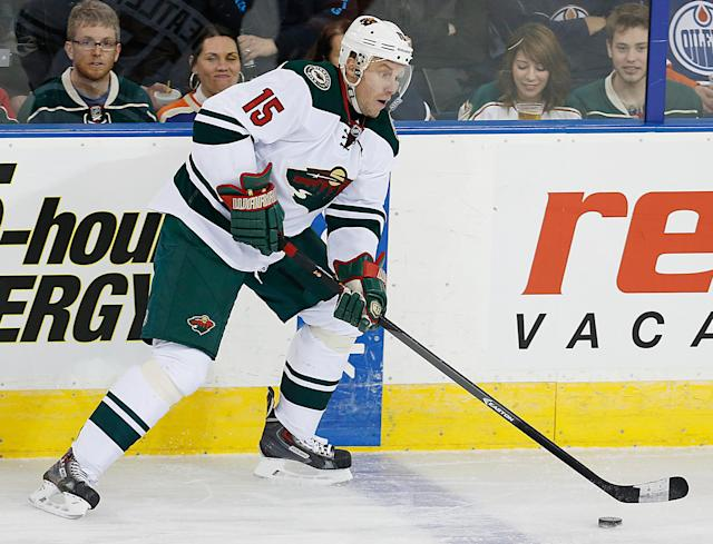 Ducks sign what's left of Dany Heatley for 1 year, $1 million