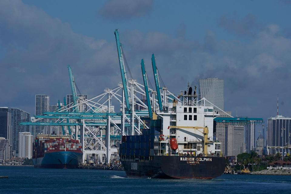 Economy-Shipping Snags (Copyright 2021 The Associated Press. All Rights Reserved.)