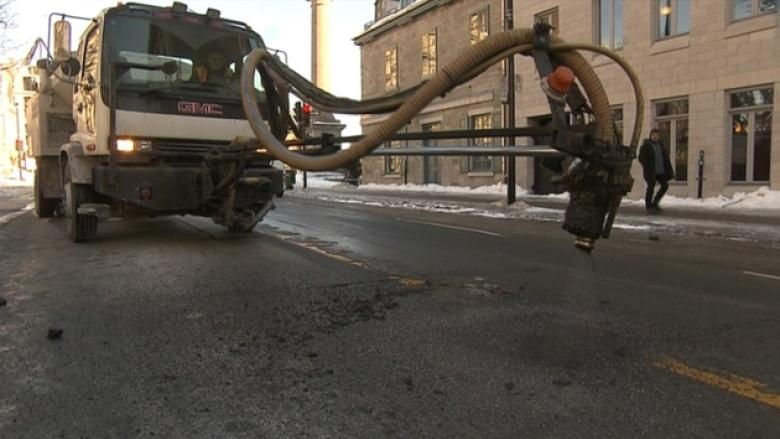 New data shows which Montreal streets are most pothole-prone