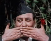 In his long career, Pran has played many characters of diverse ethnicity often experimenting with wigs, makeup, and mannerisms. In Kasauti, he played a Gorkha character named Payrelal and was greatly appreciated for it.