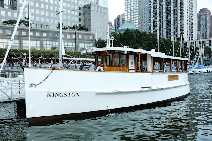 New Yorkers Set Sail in Hemingway's Wooden Boat with Loro Piana