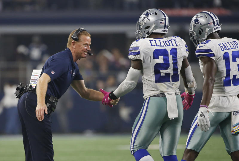 Jason Garrett gets choked up in postgame speech to Cowboys 92b82aa75