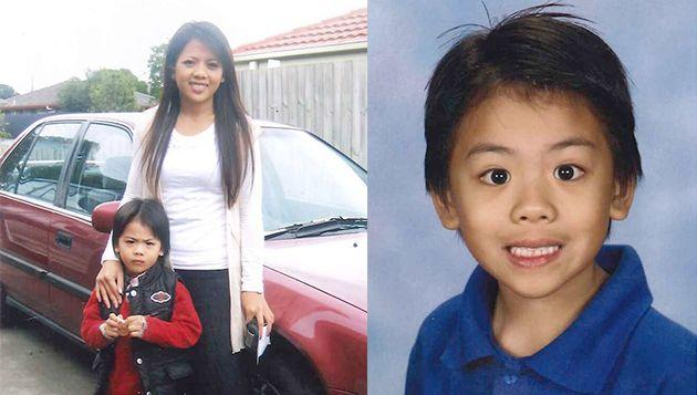 Ly Ny and her son Leon who have been reported missing in Victoria. Photo: Victorian Police